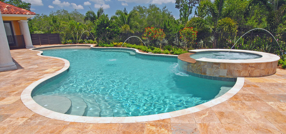 Commercial landscaping cincinnati garden style for Pool designs florida